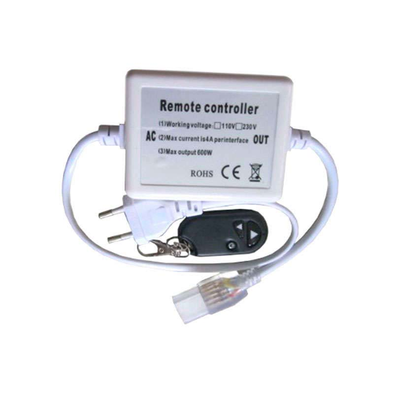 220V led strip dimmer RF 600W
